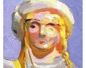 Jemima Potts Corgi Toy Figure (Fine Art Print not a real Chitty Chitty Bang Bang Corgi Toy Figure)