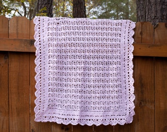 Lacy baby blanket - a wonderful gift!