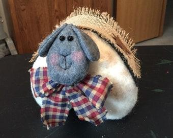 Primitive Sheep Doll-  Farm Animals