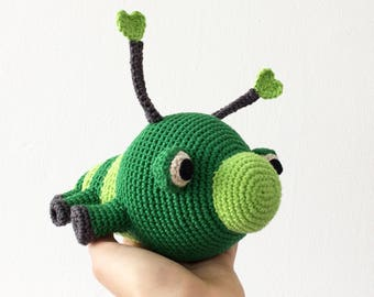 PATTERN - Lovebug crochet pattern, Insect Amigurumi pattern, Caterpillar Plush crochet pattern, Plush toy, Animal, Valentine