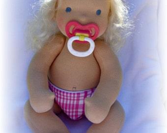 Waldorf Baby Doll - Kit and pdf Pattern