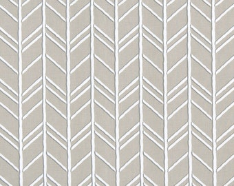 """Premier Prints Herringbone Fabric By the yard BOGATELL Cove Home Decorator 54"""" Wide Designer Taupe Natural Fabric 7 oz 100%  Cotton"""