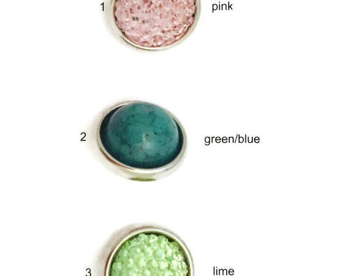 12mm Snap Buttons for Snap Jewelry-Snap Buttons- Petite Snaps- Snap Charms- Add to Petite Snap Necklaces and Snap Bracelets-12mm Snaps