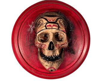 Spirit Skull - Original Wall Sculpture