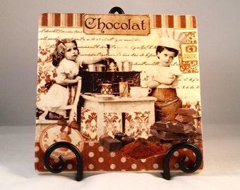 Maitres Chocolatiers Trivet ( hot pad)