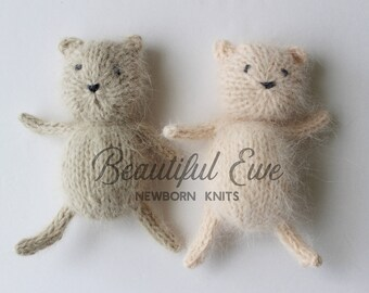 Tiny Teddy Bear Knitting Pattern