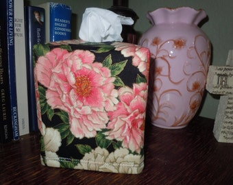 """Ready To Ship - """"Empress Flower Collection"""" - Tissue Box Cover"""