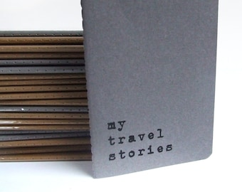 Travel notebook; Travel diary; Travel book; Travel journal 'my travel stories MOLESKINE® Cahier Notebook  For globetrotters and travelers.