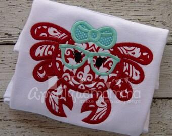Mrs. Crab Applique Design