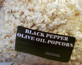 Black Pepper Olive Oil Popcorn