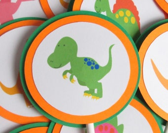 Dino Cupcake Toppers