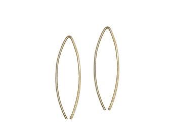 Gala, Small Wishbone Earrings