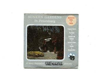 60's era view-master reels, Sunken Gardens St. Petersburg.