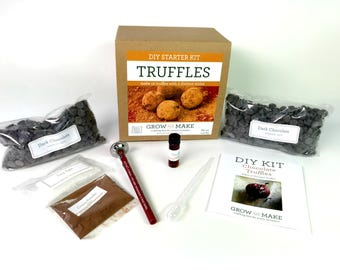 DIY Chocolate Truffle Kit