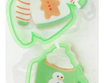 Ugly Sweater Cookie Cutter Set - Sweet Sugarbelle Cookie Cutters - Winter Holiday Christmas Cookie Cutters - Sweater, Mug