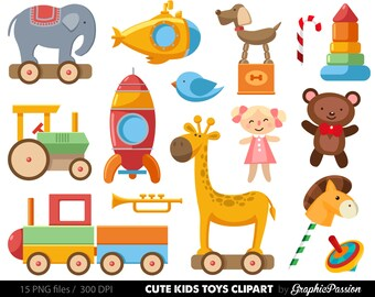 Baby Toys Clipart Clip Art, Baby Clip art, Toy cars , kids toys clipart,digital illustration, Toy clipart, Toy clipart, Baby clipart