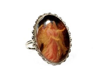 Ring, statement ring, Vintageschmuck