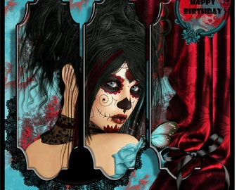 Day Of The Dead Ruby