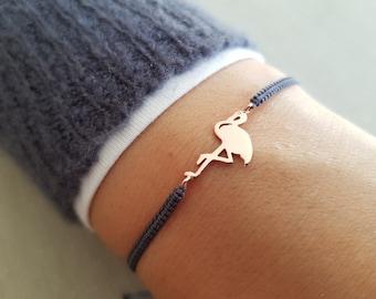 Bracelet Flamingo Rose Gold Gift