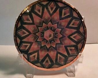 Carnelian Crystal Disc