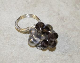 Cluster Twist Ring