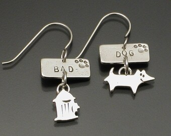 Bad Dog earrings