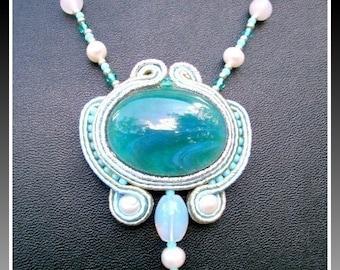 TUTORIAL - how to make a soutache pendant