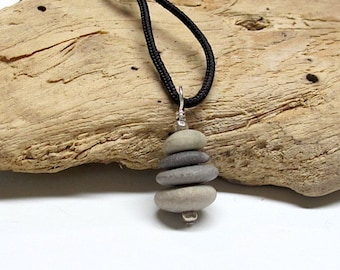 Beach Pebble Pendant