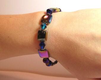 Intergalactic - COPPER Interchangeable Beaded Watch Band