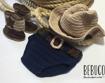 Crochet Cowboy for Baby