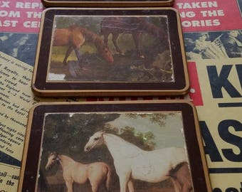 A Horse Themed Set of Coasters
