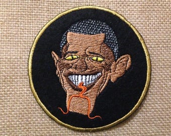 Various embroidered patches