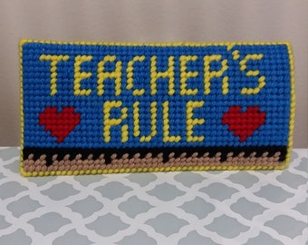Teacher eyeglass case