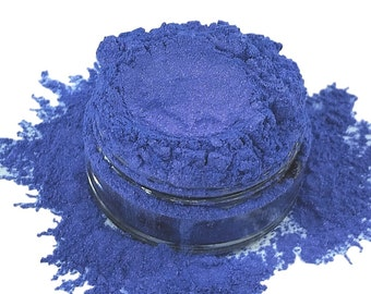 Adrenaline Purple Blue Mineral Eye Shadow 10g Sifter Jar Gray eyeshadow Vegan Natural mineral Mica Makeup