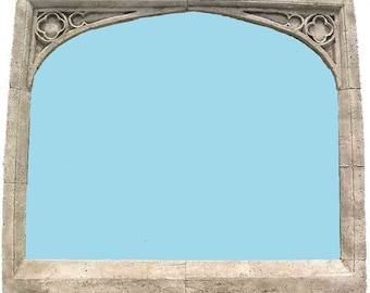 GOTHIC OVER MANTEL mirror