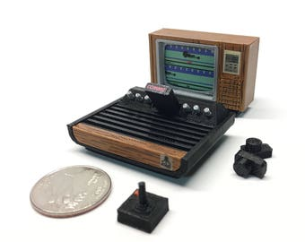Mini Atari VCS/2600 Deluxe Set - 3D Printed!