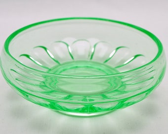 Bagley Uranium Art Deco Small Bowl