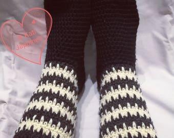 Louhi slippers / socks, *PDF PATTERN*