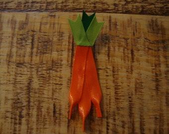 Carrot Ribbon Sculpture