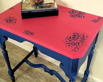 Petunia the Pretty Pink Side Table Accent table Entry table