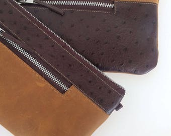 Mini bag - Ostrich collection-