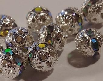 Swarovski Crystal Multi Faceted Beads