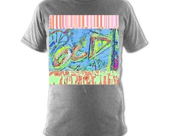 OCD Designer Artswear T-shirt Grey