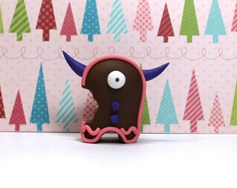 Timid Gingerbread Monster