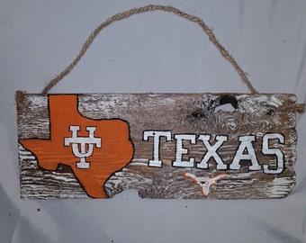 UT texas  sign