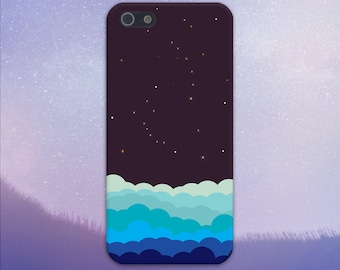A Sky Full of Stars Case, iPhone X, iPhone 8 Plus, Protective iPhone Case, Galaxy s9, Samsung Galaxy Case Note 8, Handmade CASE ESCAPE