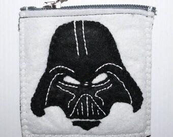 Star Wars 2 felt coin purse