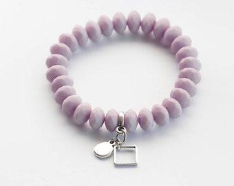 Bracelet in Lilac