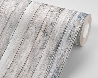 White Wood Planks