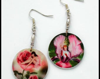 Fairy Gothic Fairy Flower Fairy Earrings Fairy Style for Teenager // Fairy Digital Image